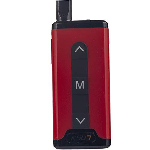 QZQIMIN Mini Miniature Walkie-Talkie Civil Hair Salon 4S Shop Beauty Salon Hotel Small PTT Launch Button Diversified Wireless Intercom LED Display Two Way Radio QMV66-V0-R