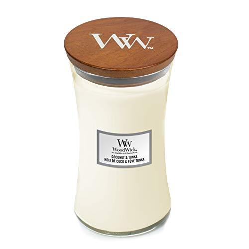 Woodwick Coconut Tonka großes Glas