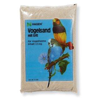 Hagen Vogelsand Sable pour oiseau avec gros grain 2,5 kg
