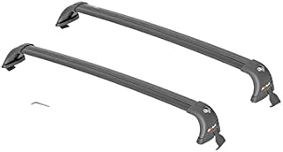 ROLA 59734 Removable Mount GTX Series Roof Rack for Toyota Corolla, Black