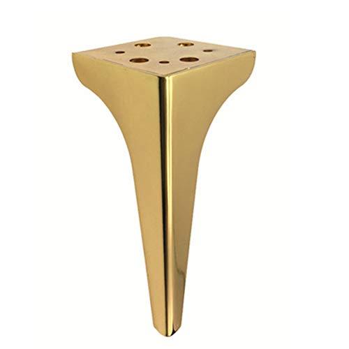 4 stks moderne bank benen, Hardware ondersteuning been, goud zwart meubilair voeten, Hardware onderdelen, voor banken, stoelen, krukken, kasten, Goud