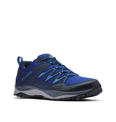 Columbia Herren Wayfinder Outdry Walking-Schuh, Royal, Pool, 41 EU
