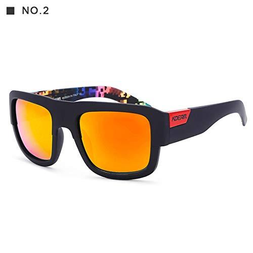 YaXDS Occhiali da Sole, di Modo di personalità Colorati Occhiali da Sole di Sport for Le Donne...
