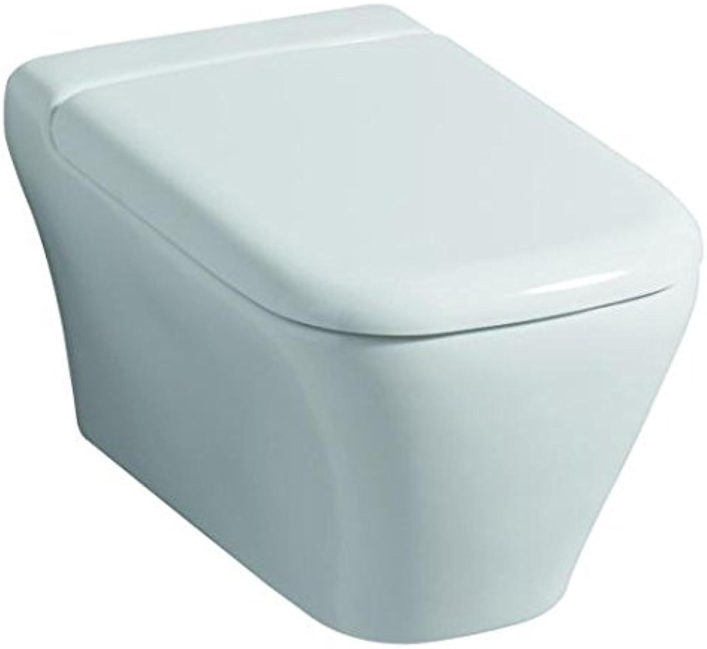 Keramag WC-Sitz MYDAY mit Deckel, Scharniere  Metall weiß, 575400000 B00E0RD934