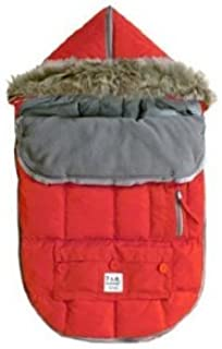 7 A.M. Enfant Le Sac Igloo 500 Bunting in Red (Small)