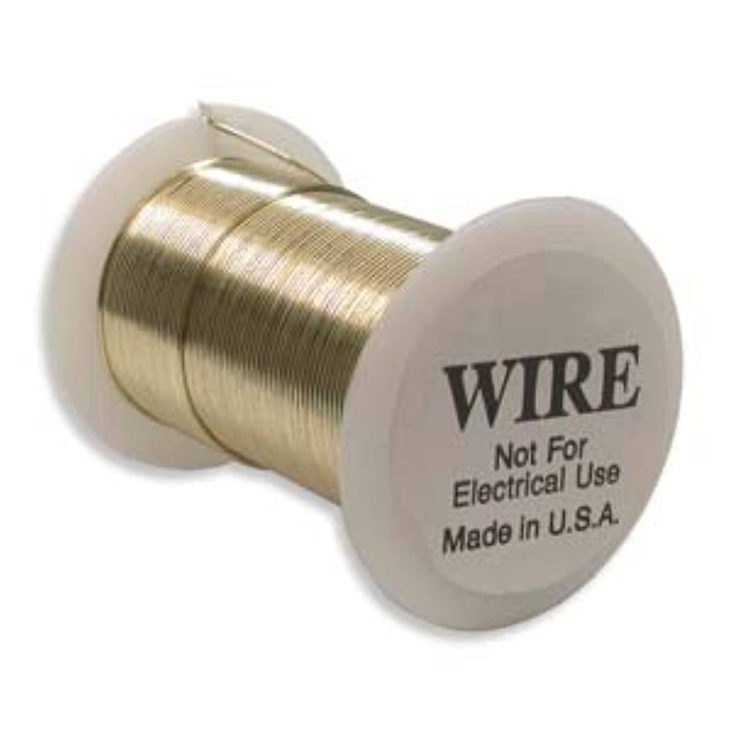 Craft Wire Gold Color Tarnish Resistant 20 Ga 15 Yd by Beadsmith