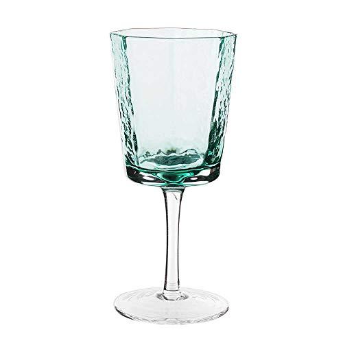 MEIQING Hammer Eye Patroon Beker Loodvrij Glas Geometrisch Rode Wijnglas Champagne Glas Bierglas 260 ml/Groener