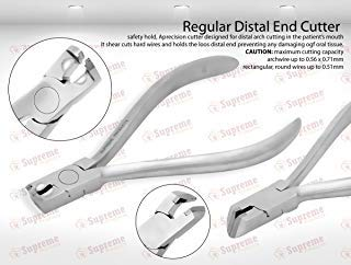 German T.C Regular Distal End Cutter Hold &Cut Hard and Soft Wire Orthodontic