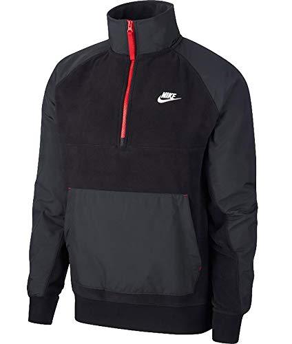 Nike Sportswear Polo pour homme Noir/blanc Taille XL