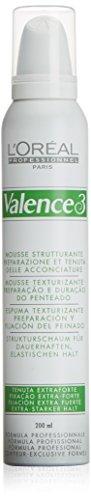 L'Oréal Professionnel Valence 3 Strukturschaum extra stark, 200 ml, 1er Pack, (1x 200 ml)