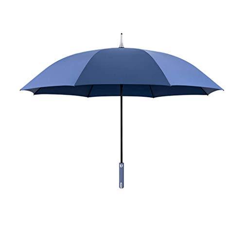 JIAJBG Sombrillas Plegables Paraguas de Golf Grande, Paraguas de Lluvia de Viaje con Doble Dosel Resistente Al Agua a Prueba de Viento, Paraguas Ventilados de Gran Tamaño para 2Men