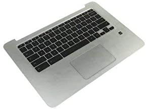 New Genuine KTP for HP Chromebook 14 G3 Palmrest Assembly with Keyboard and Touchpad 787716-001 793164-001