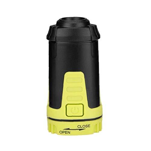 Odoukey Carpa de la lámpara portátil de luz de Camping Plegable Mini Estiramiento del Campo de la Linterna con el Gancho