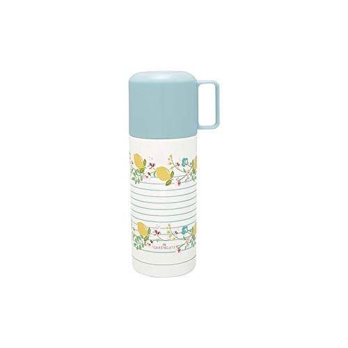 GreenGate - Thermosflasche - Isolierflasche - Limona - Zitronen - 350 ml