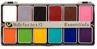 Wolfe FX, Face Art, and FX Essential Hydrocolor Makeup, 12 Color Pallete