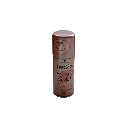 Schwarzkopf got2b Natürlich Nude Glanzleistung Federleichtes Öl Spray, 3er Pack (3x100ml)
