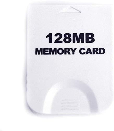 128MB Gaming Geheugenkaart voor Wii Gamecube RVL-001 Kleur: wit