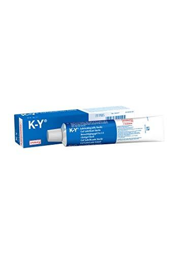 K-Y steriles Gleitgel 82gr., transparent & neutraler Geruch (parfümfrei) nicht fettendes wasserlösliches Gel für mehr natürliche Feuchtigkeit & Gleitfähigkeit