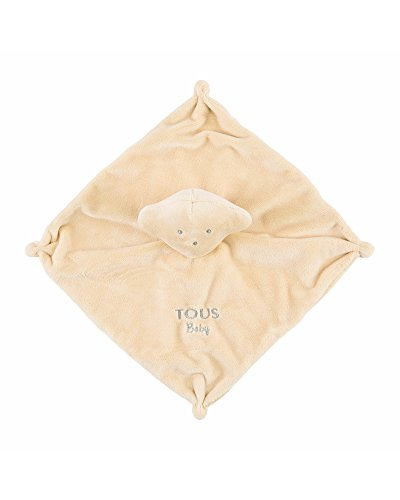 Tous Baby- Mantita de Seguridad, Color Beige (T.Bear-602_000
