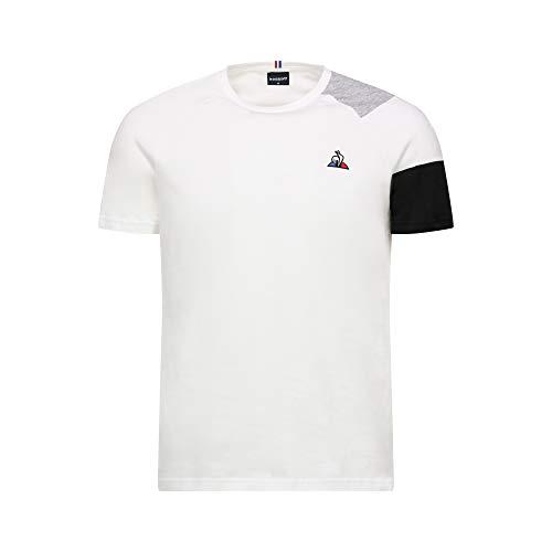 Le Coq Sportif ESS Tee SS N°10 M T-Shirts & Polo Shirts Men Black/Grey - L - Short-Sleeved t-Shirts
