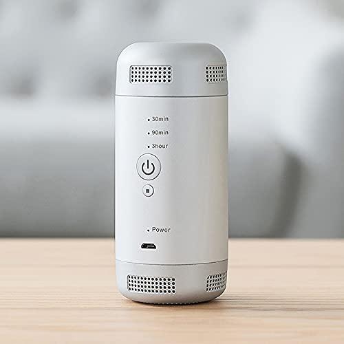 Esterilizador Portátil, Ambientador Portátil, Desinfectante de ozono, Elimina olores Portátil, carga por USB,