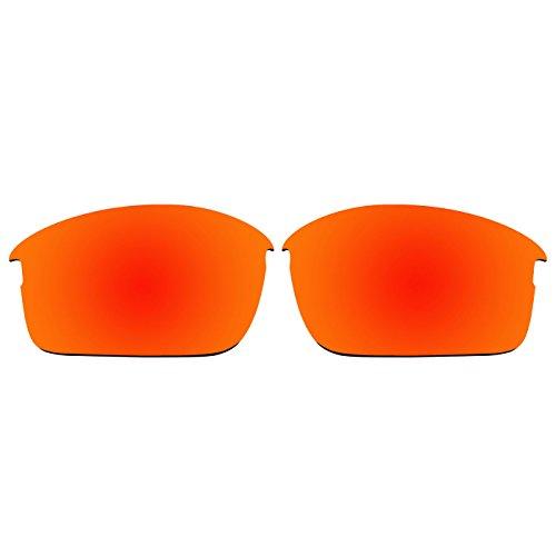 """ACOMPATIBLE Ersatz-Brillengläser für die """"Bottle Rocket""""-Sonnenbrille von Oakley, OO9164, Fire Red Mirror - Polarized, S"""