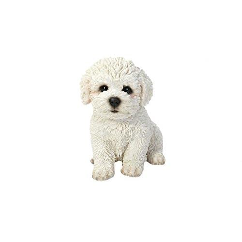 8b96546af734 Hi-Line Gift Ltd Sitting Bichon Frise Puppy