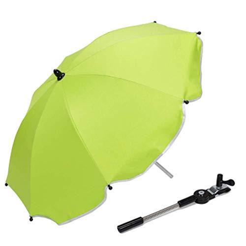 Universele outdoor kinderwagen stoel parasol zonnescherm luifel anti-paraplu luifel geschikt voor kinderwagen wagen stoel, blauw