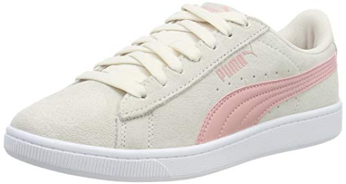 Puma Damen Vikky v2 Sneaker, Pastel Parchment-Bridal Rose Heather White, 38.5 EU