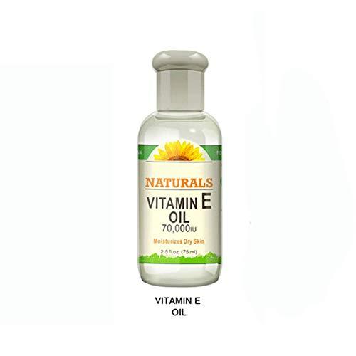 ROMANTIC BEAR huile d'essence de visagel Douleur cervicale Circulation sanguine Anti-acné Relaxez votre corps Vitamine E 75ml (Vitamin E oil)
