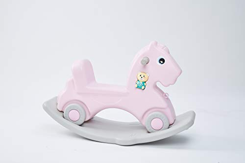 SHOPPER STOP ROCKING HORSE { PINK }