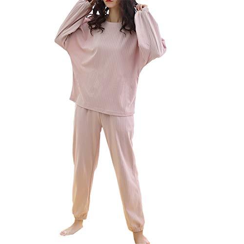 LXX vrouwen pyjama's katoen met lange mouwen leuke aardbei tweedelig Home Service pak herfst