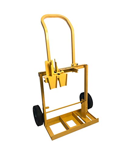 PanelLift 117 Drywall Lift Storage Dolly, Yellow