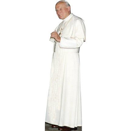 HistoricalCutouts H48024 Pope John Paul II Cardboard Cutout Standee