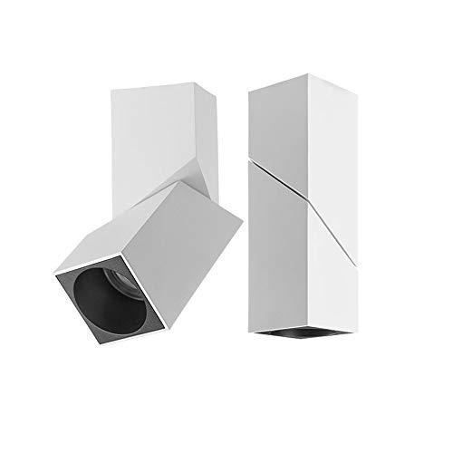 5W / 10W / 12W / 15W LED Downlight de superficie Montaje superficial 90 ° Fondo de la pared Spotlight CRI85 haz Grado 15 ° iluminación de techo Luz 3000K / 4000K / 5000K / 6000K Iluminación