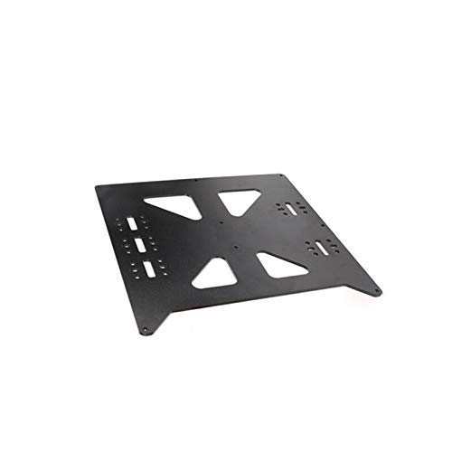 Printer Accessories Black Aluminum Y Carriage Anodized Plate Upgrade V2 Hot Bed Support Plate for Wanhao Prusa i3 RepRap DIY 3D Printer Parts 3D Printer Parts