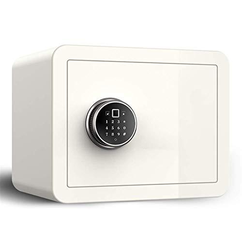 HIZLJJ Gabinete Cajas de Seguridad electrónicas hogar Seguro, pequeña Huella Digital Oficina de Seguridad del hogar Todos antirrobo Caja de Seguridad Inteligente de Acero Pared Cajas Fuertes
