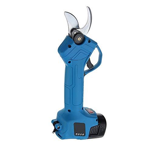 No-Branded Sierras de poda La poda eléctrica Tijeras Tijeras de podar 500W 16,8V Recargable Jardín Pruner sécateur Poder de Corte Herramienta de Corte Jfycuicano (Color : Azul, Size : 2 Batteries)
