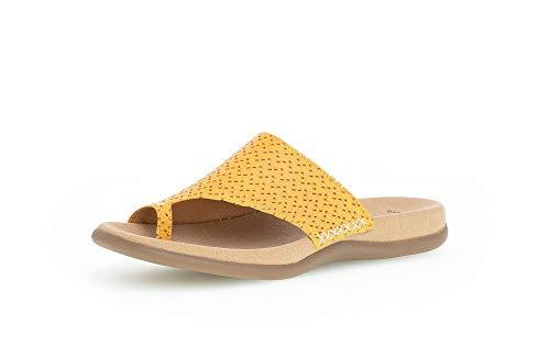 Gabor Damen Clogs, Frauen Pantolette,Best Fitting,weiblich,Ladies,Women's,Woman,Slipper,Slides,Sandalen,Sommerschuhe,Lady,Mango,39 EU / 6 UK