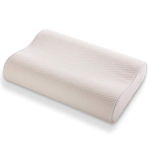 SINOMAX Contour X-Foam Cervical Pillow - Golden Diamond Neck Pillow for Back Support - Contour Memory Foam Pillow - Firm Neck Pillow for Pain Relief Sleeping - 21 x 14 x 4-5 inches (Standard)