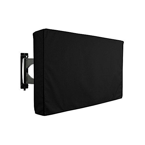 Material de Calidad Resistente a la Intemperie y al Polvo con Gamuza de Microfibra para Exteriores para Mantener tu TV al Aire Libre Seguro y Proteger tu TV Ahora #81063 65-70