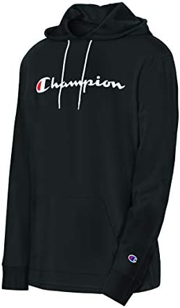 Champion Men s MIDDLEWEIGHT Hoodie Black Small product image