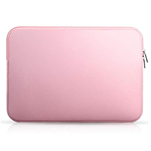 Berrywho Tablet Case Portable Laptop Collision Avoidance Liner 15.6 Inch Notbook Bag Compatible with Iphone Pink