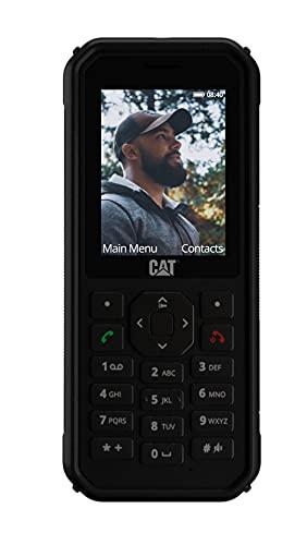 """CAT B40 - Robustes Outdoor Handy mit 4G LTE (Sturzsicher, Wasser- & Staubdicht nach IP69 und MIL SPEC 810H, Antimikrobiell, 100 Lumen Taschenlampe, 2MP Kamera, 2,4\"""" Display, 30 Tage Akku) schwarz"""
