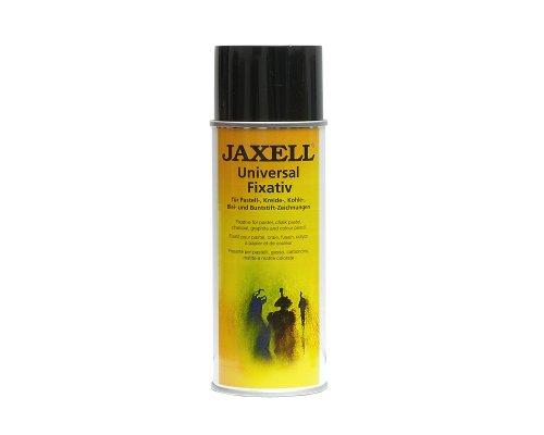Honsell 47500 - Jaxell Universal Fixativ, alterungsbeständiges Fixierspray für Ihre künstlerischen Arbeiten, seidenmatt auftrocknend, Sprühdose mit 400 ml