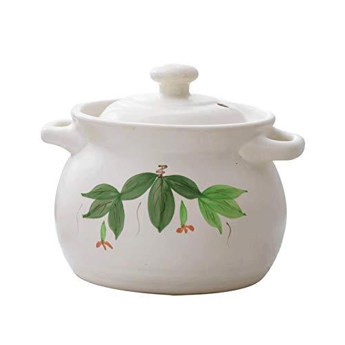 Cocina de Olla Casserole de cerámica, olla de arcilla, acumulación de calor...