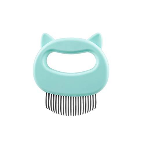 KINTRADE Katzenohrform Muschelkamm L Typ Hundekatze Floating Knot Haarreinigungswerkzeug