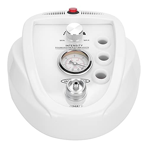 Máquina de microdermoabrasión Aparato exfoliante facial Dispositivo de rejuvenecimiento de la piel para eliminación de espinillas con succión al vacío(EU)