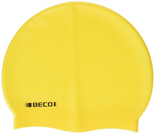 Beco Beermann GmbH & Co. KG Kinder Silikonhauben, unifarbig Kappe, gelb, One Size