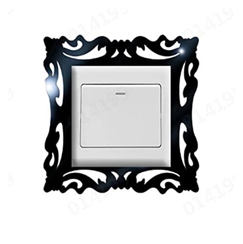 Sun Can Cubierta del interruptor de la casa Interruptor cuadrado de la forma de la pared de la pared de la pared de la pared Decoración de la decoración ADESIVO DE PARED Switch Pegatina Wallpaper Nuev